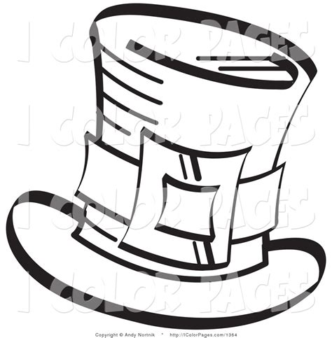 1423 best images about black and white coloring pages on top hat coloring page clipart panda free clipart images