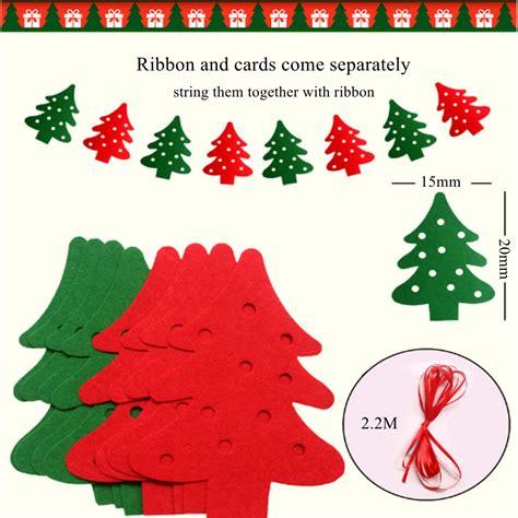 xmas tree banner garland hanging bunting merry christmas