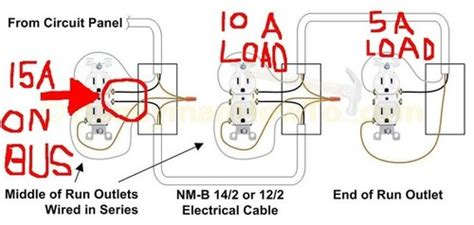 wiring receptacles in series 28 wiring diagram images