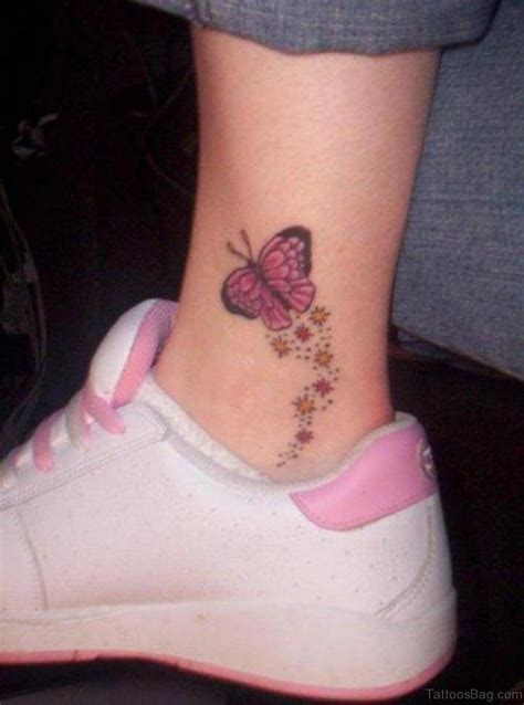 ankle butterfly tattoo designs 50 excellent butterfly tattoos on ankle