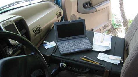 car office desk car desk from tool kit