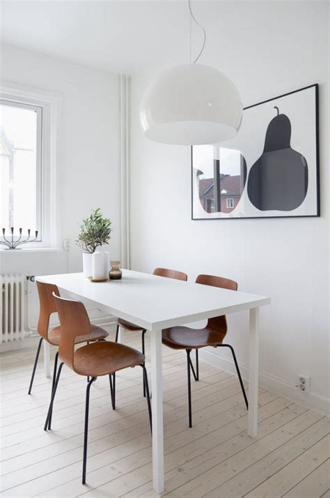 Scandinavian Dining Room Scandinavian Tables Bring Simplicity To The Dining Room 15 Beautiful Ideas