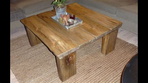 coffee table  reclaimed wood youtube