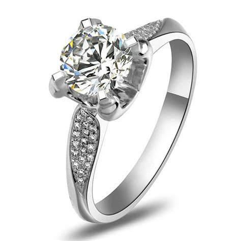 brilliance synthetic rings wedding promise