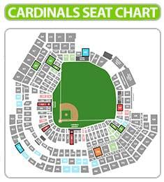 detailed seat map of busch stadium cardinals tickets promo codes for 2015