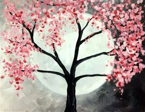 paint nite japanese cherry blossoms 17 best ideas about cherry blossom painting on