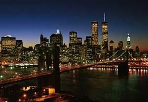 manhattan skyline and brooklyn bridge nyc get