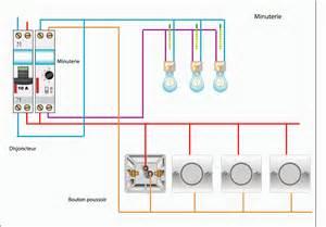 schema electrique schema de cablage de la minuterie 4 fils