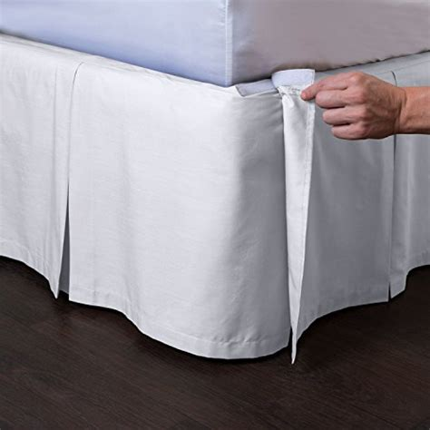 detachable bed skirts ashton detachable pleated bed skirt 21 drop bedroom store