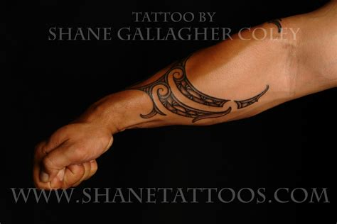 polynesian forearm tattoo maori polynesian maori forearm on anthony