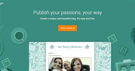 mudah membuat blog  platform blogspot