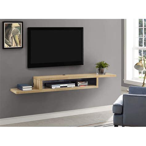 martin furniture   asymmetrical wall mounted tv shelf