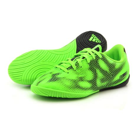 sports shoes for football boys adidas f10 in indoor solar green football sports