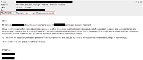 Sending A Resume Via Email by How To Send Resume By Email The Best Resume