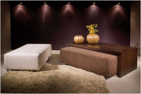 coffee table with ottomans under 10 ways ottomans can enhance a room freshome com