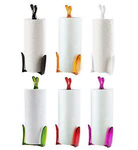 kitchen towel roll holder koziol roger kitchen roll paper towel holder stand