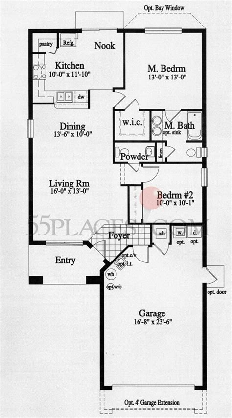 solivita floor plans duval floorplan 1086 sq ft solivita 55places com