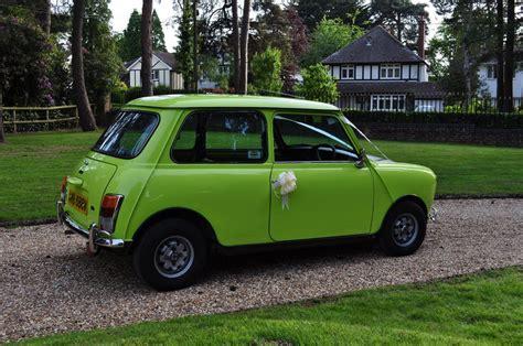 hire  classic car  bean  mini