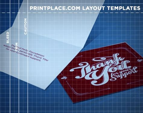 greeting cards templates free download printplace com