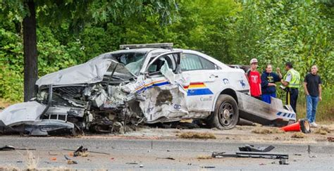 motor vehicle office vancouver langley rcmp vehicle in serious crash in aldergrove