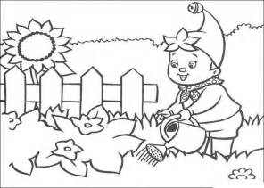 garden coloring gardening colouring page only coloring pages
