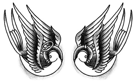 angel and devil tattoo tattoos