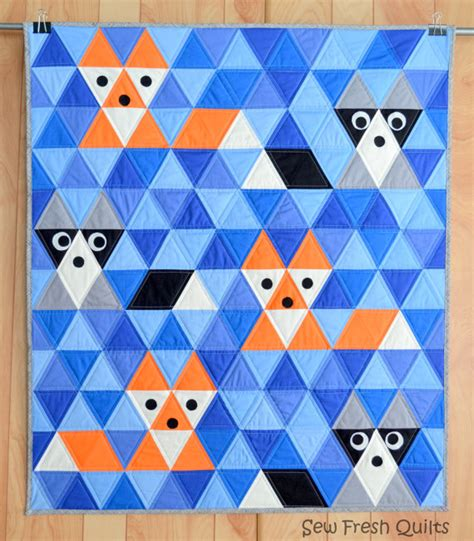 Triangle Patchwork Quilt Patterns - quilt pattern pdf triangle quilt kona solids modern