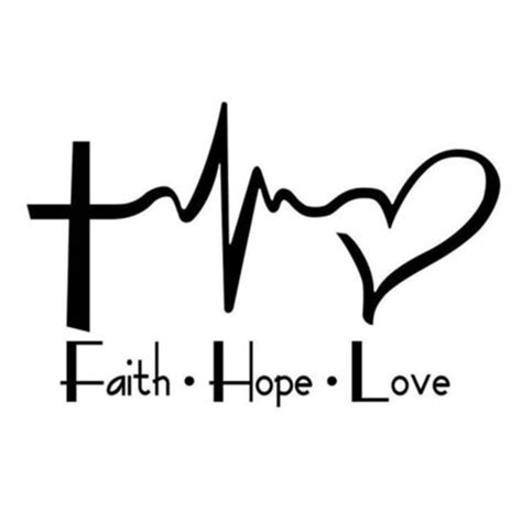 25 off custom made accessories faith hope love vinyl