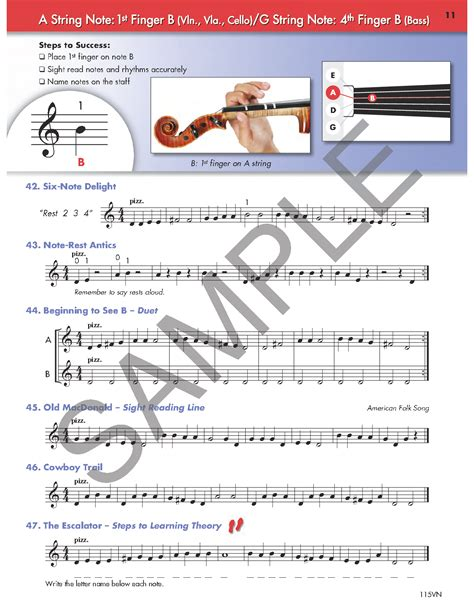 String Basics - string basics book 1 violin by terry sha j w pepper