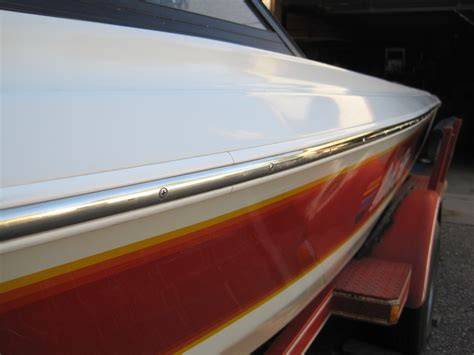 malibu boat replacement rub rail rubber rub rail to stainless rub rail modifications