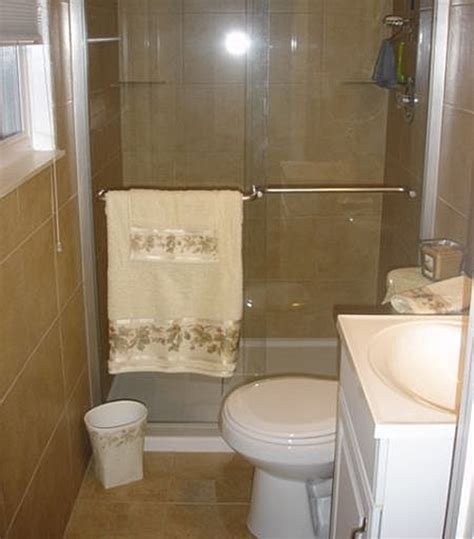 Remodel Small Bathroom With Shower Small Bathroom Design Ideas