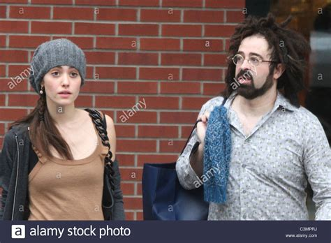 emmy rossum counting crows emmy rossum and adam duritz of counting crows out shopping