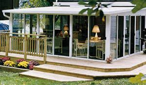 add a outdoor room to home add room and deck to your park model from driftwood rv