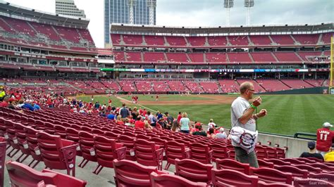 Great American Ballpark Section 135 by Great American Park Section 137 Cincinnati Reds