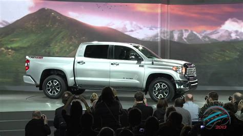 toyota full website toyota unveils 2014 redesigned tundra full size pickup