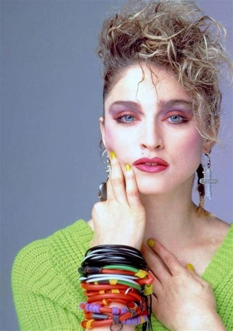 5 Tips To Mastering The 80s Make Up Revival by Madonna Moodboard Madonna
