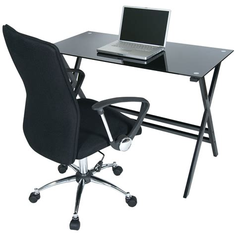 computer desk and chair set levv cd1100blb o5cbb computer desks