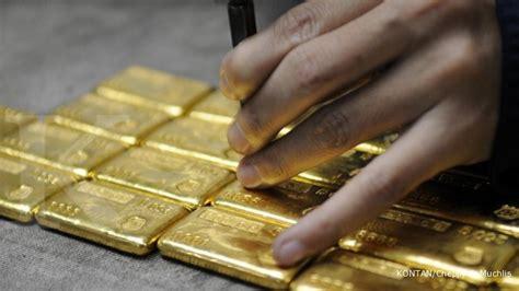 Rd Bersertifikat harga acuan emas antam turun rp 2 000 per gram