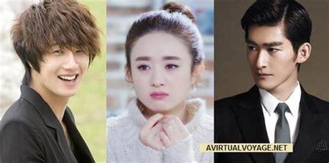 film drama zhang han the rise of a tomboy confirms zhao li ying zhang han and
