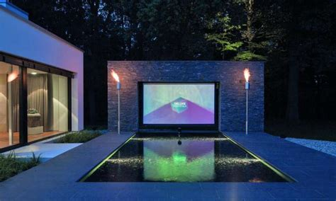 smarthome traum dieses outdoor kino ist deluxe connect