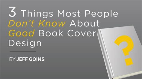 the 3 no s every successful should books three things most don t about book cover design