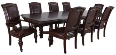 antoinette dining room set steve silver antoinette 9 piece dining set homemakers
