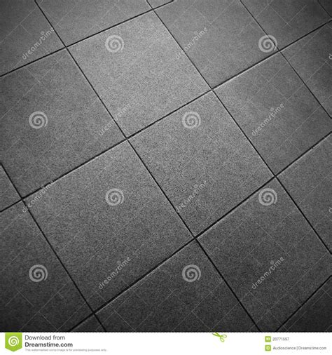 gray square tile floor stock image image of closeup
