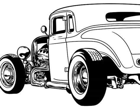 hot rod cars coloring pages custom muscle cars engine diagram and wiring diagram