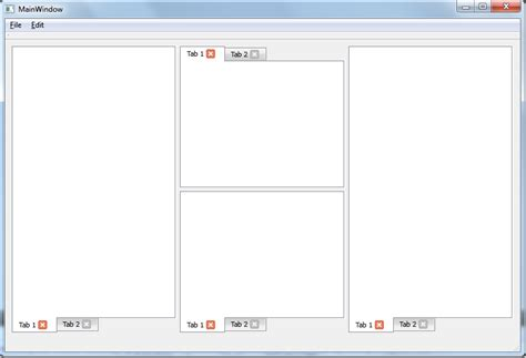 qt designer break layout c qt splitter layout resize behaviour using qt
