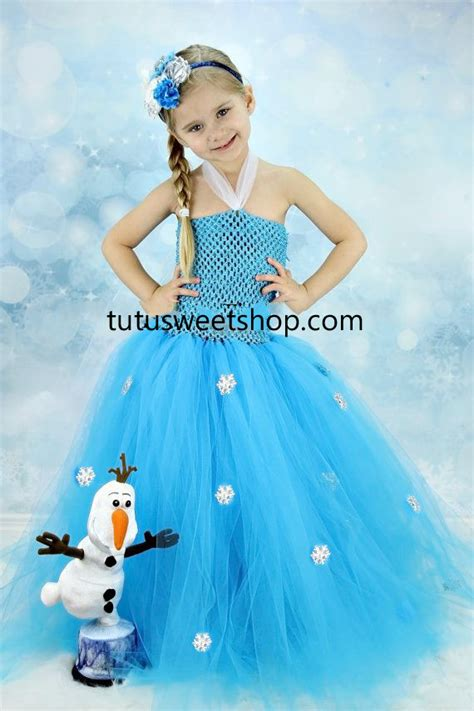 Handmade Elsa Dress - handmade elsa frozen inspired baby tutu dress