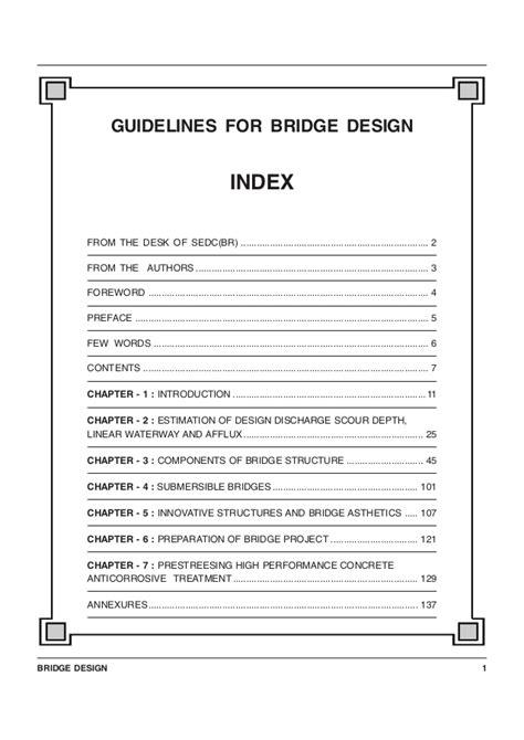 guide lines bridge design guide lines bridge design
