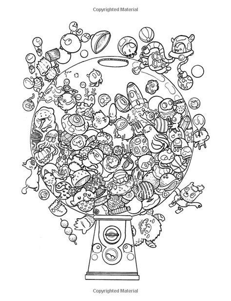 doodle chaos zifflins coloring new colouring book doodle coloring pages kawaii coloring pages kawaii