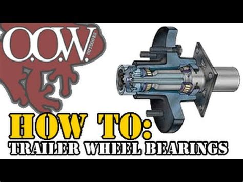 how to change wheel bearings on a boat trailer utility trailer hub bearing replacement funnydog tv