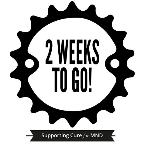 new year 2015 two weeks 2 weeks to go pk cycle raising funds for mnd